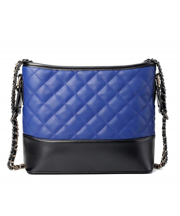 Quilted Shoulder Leather Crossbody Handbags