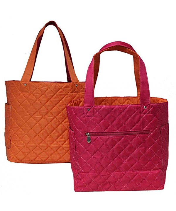 K Carroll Accessories Bonnie Reversible Quilted