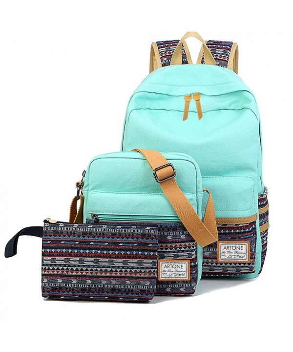 Artone Stripes Daypack Backpack Crossbody