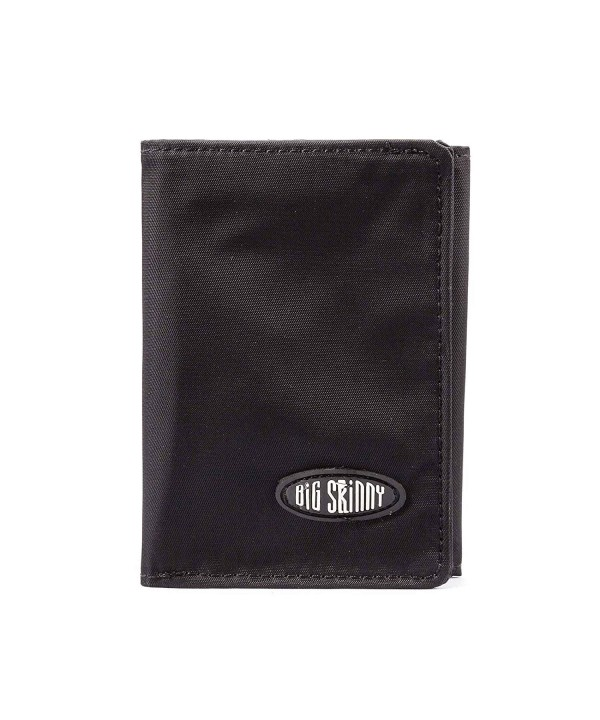 Big Skinny Tri Fold Wallet Holds