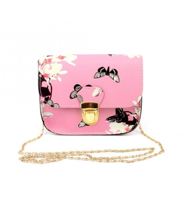 Butterfly Printing Handbag Shoulder Messenger