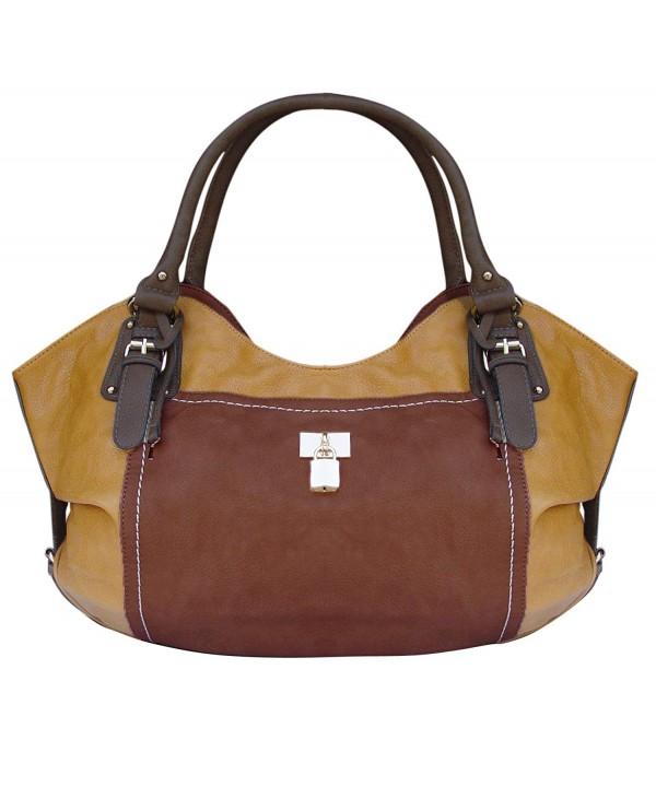 Peach Couture Classic Oversize Handbag