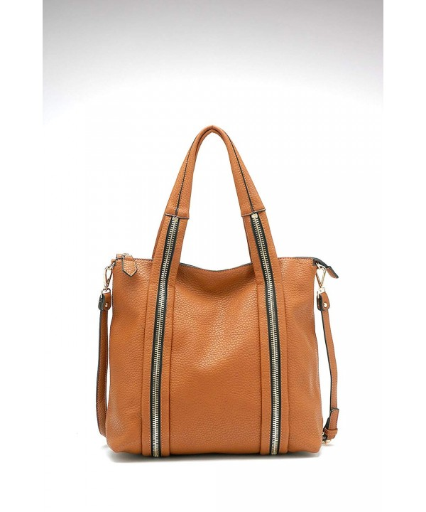 Valyne Classic Shoulder Handbag Tan