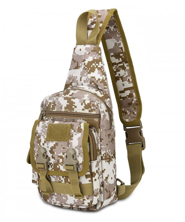 DOBRING Shoulder Unbalance Crossbody Backpack
