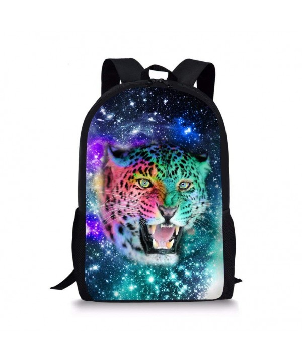 Coloranimal Children Backpacks Leopard Bookbags