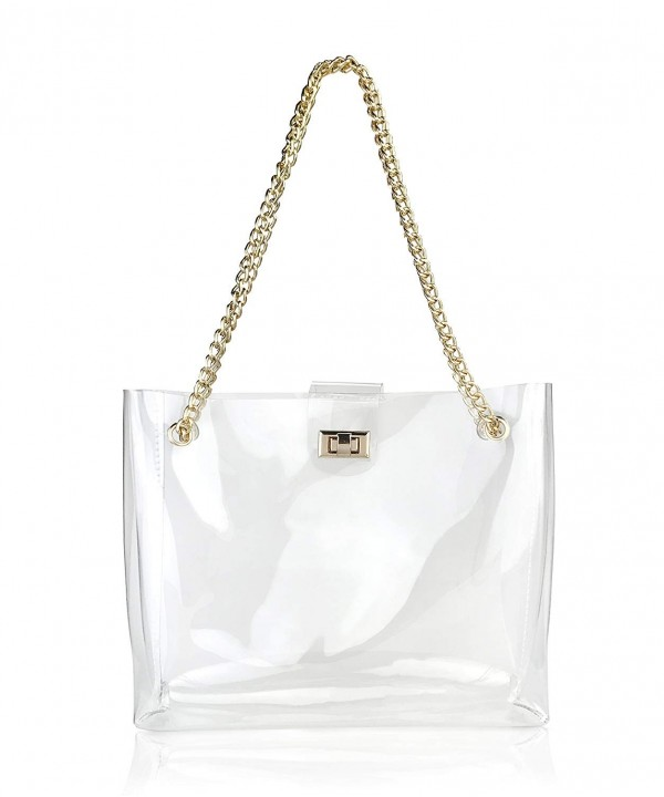 Multifunction Clear Womens Shoulder Handbag