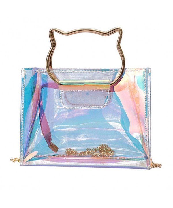 Alixyz Transparent Handbag Shoulder Multicolor