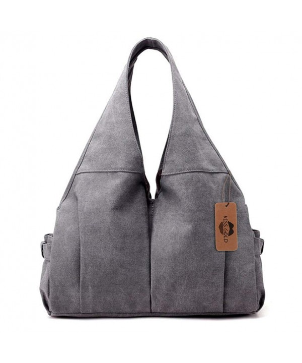 Casual Canvas Handbag Top handle Women