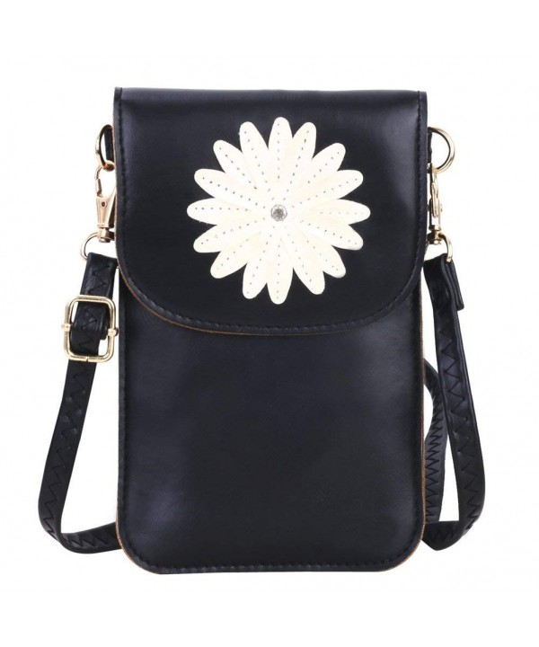 Fashion Leather Crossbody Cellphone Screen