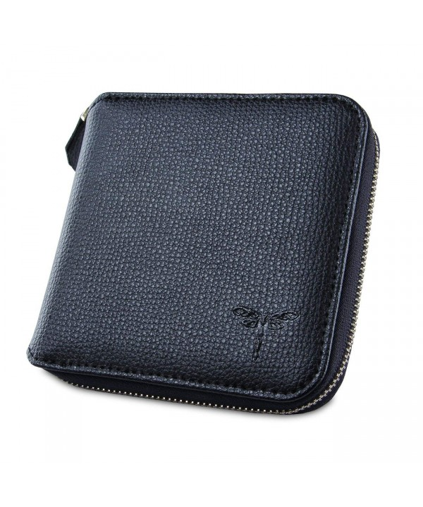 YUNCE Zipper Wallet Genuine Leather