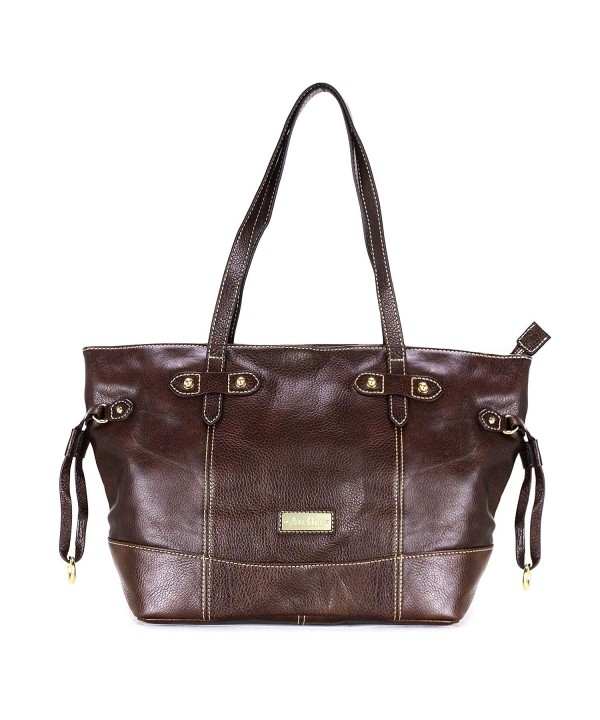 aretha Weekend Leather Handle Shoulder