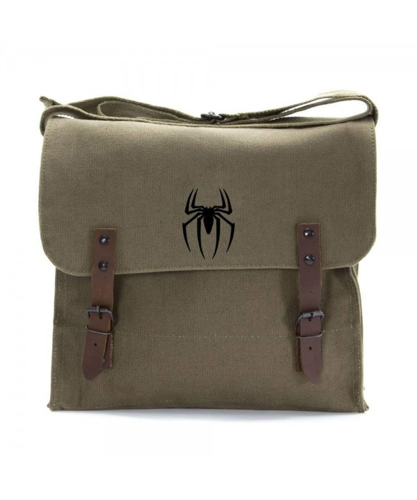 Spiderman Symbol Heavyweight Canvas Shoulder
