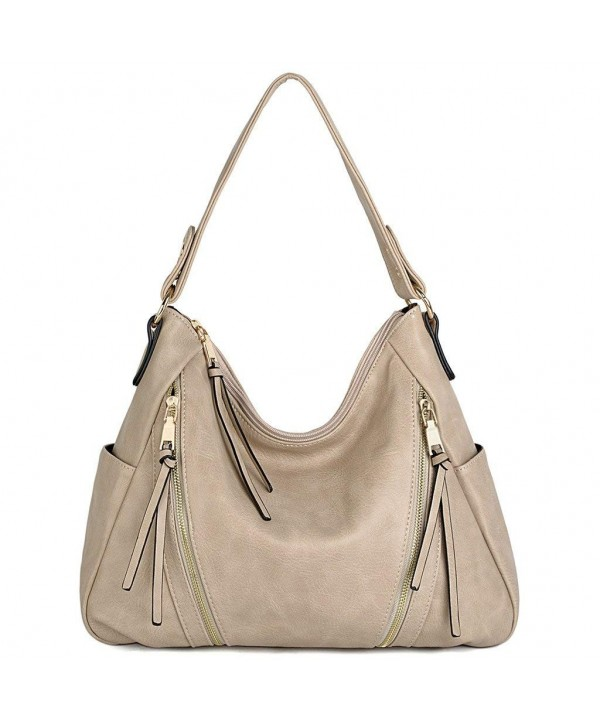 UTO Handbag Leather Double Shoulder