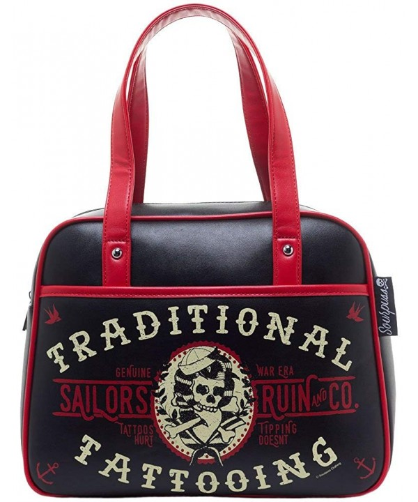 Sourpuss Sailors Ruin Bowler Purse