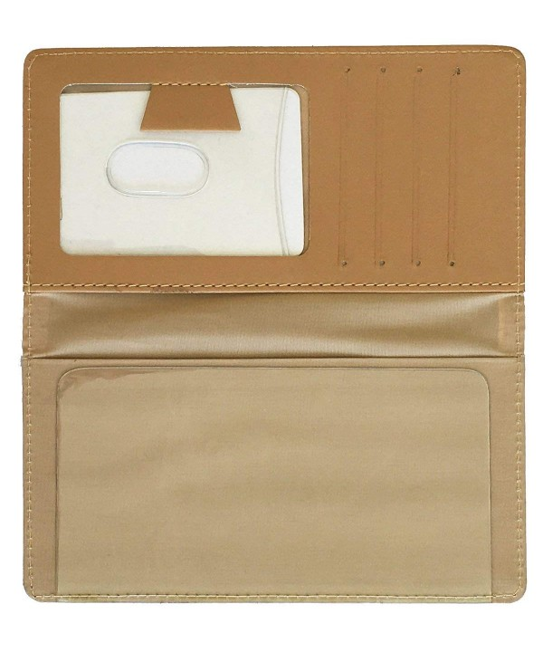 Beautiful Beaches Leather Checkbook Cover