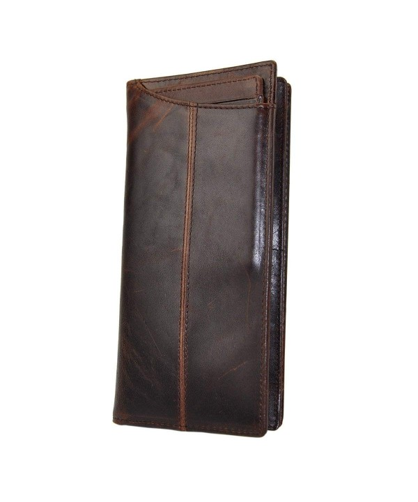 Leaokuu Genuine Leather Organizer Checkbook
