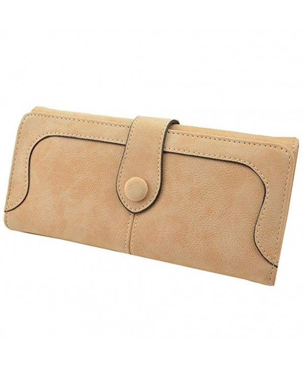 Donalworld Women Solid Leather Wallet