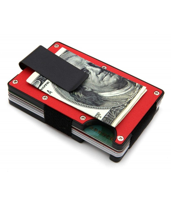 Minimalist Slim Wallet BLOCKING Money