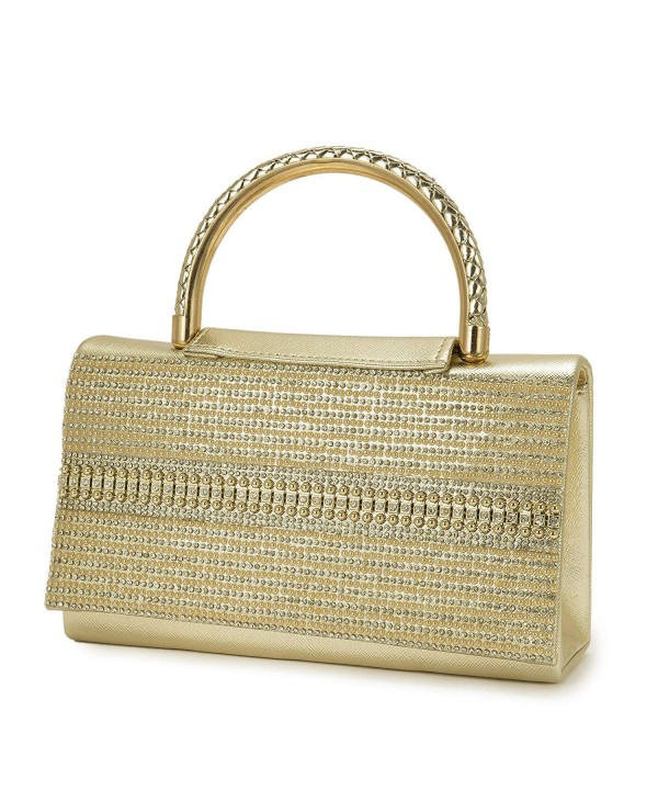 Ladies handbags crystal diamond clutches