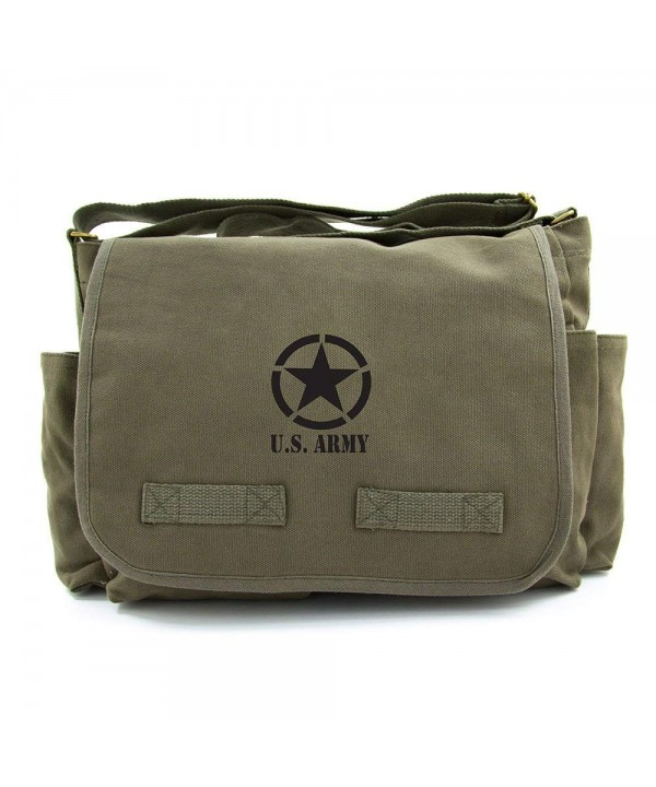 Army Military Heavyweight Messenger Shoulder