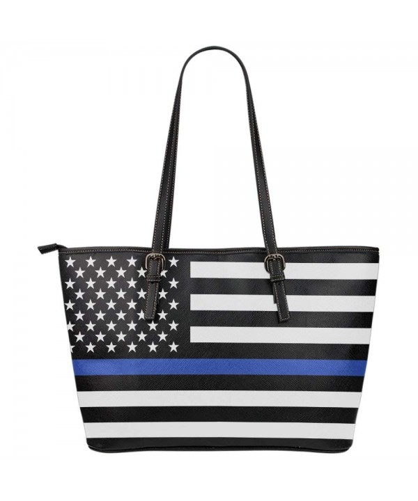 Printed Kicks Leather Police Handbag