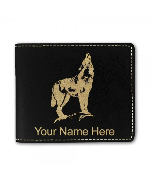 Leather Howling Personalized Engraving Included