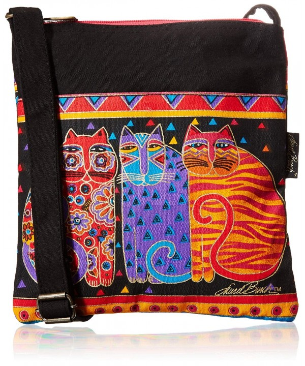 Laurel Burch Crossbody 10 Inch Friends