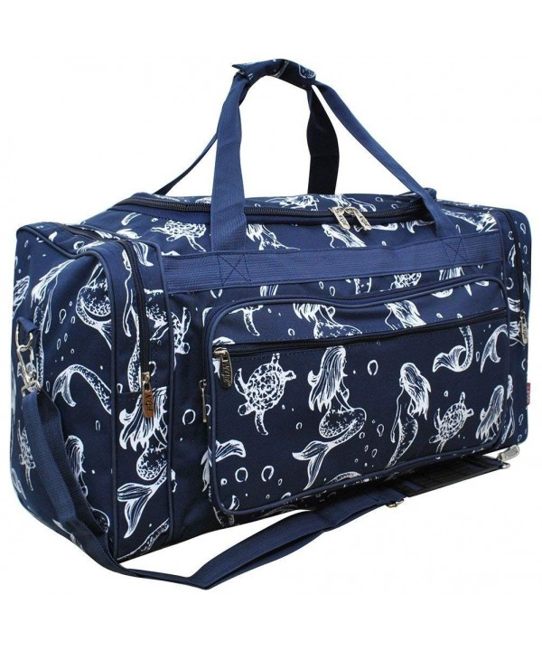 Mermaid NGIL Canvas Shoulder Duffle
