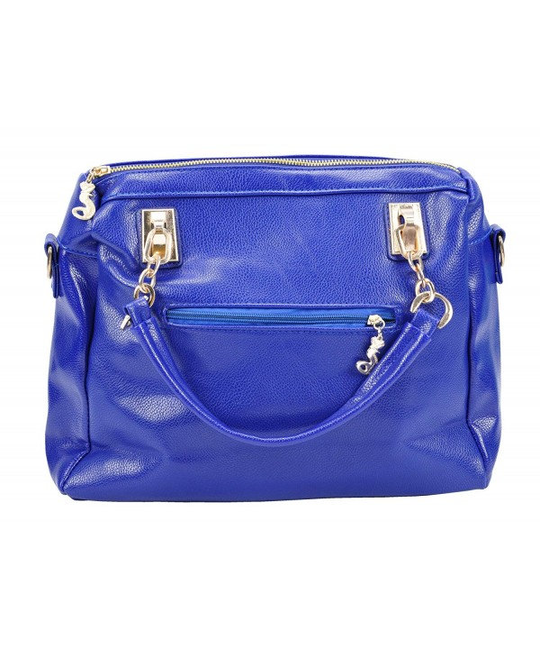 Simplicity Double Studded Satchel Handbag