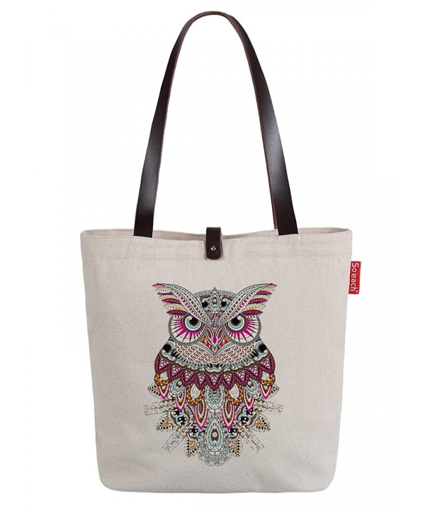 Soeach Womens Animal Graphic Shoulder