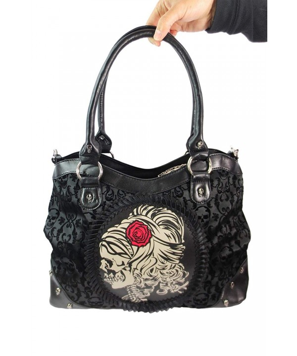Banned Lady Skeleton Bag Black