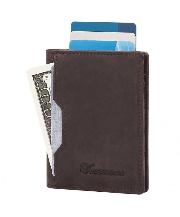 Blocking Wallets Genuine Minimalist Billfold