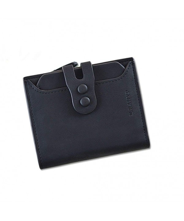 Wallet Leather Credit Organizer Closure