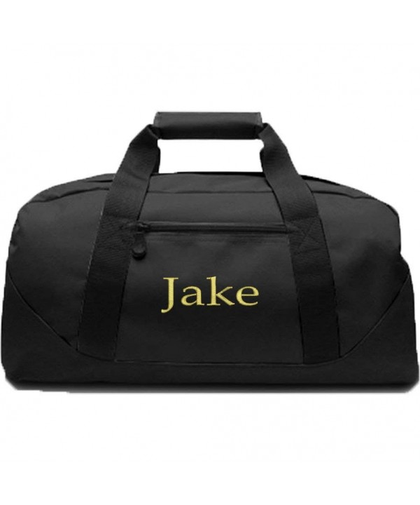 KYS Personalized Canvas Duffel Black