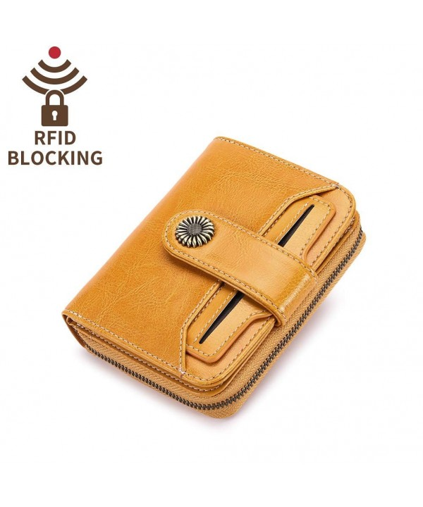 Wallets Blocking Simple Bifold Pocket