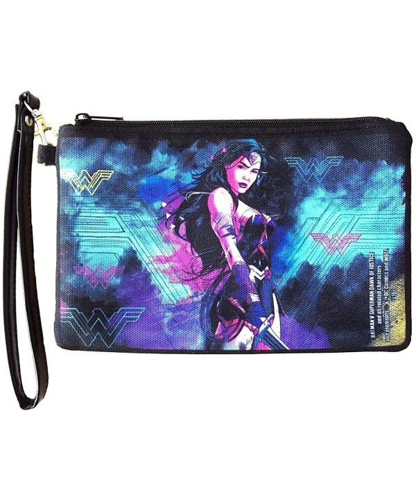 DC Comics Wonder Canvas Zipper