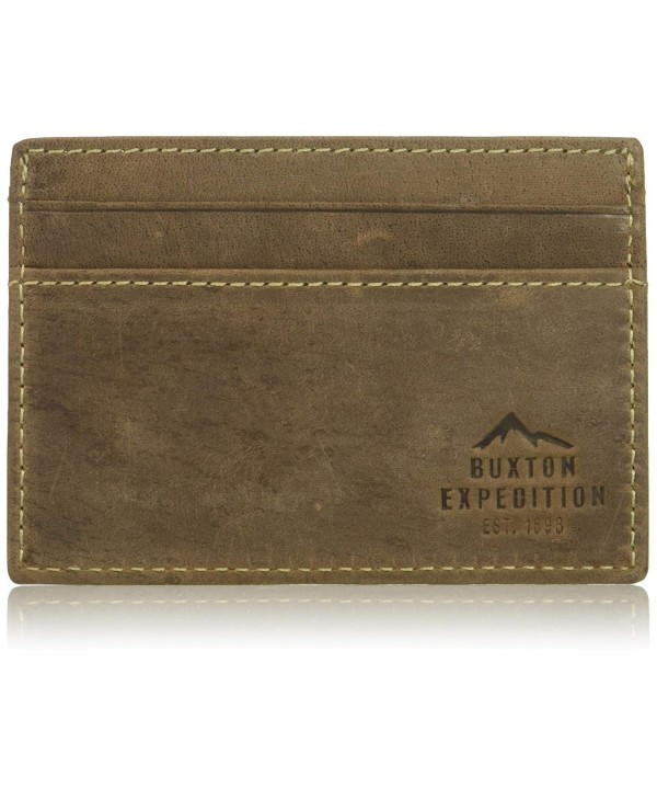 Buxton Expedition Blocking Leather Getaway