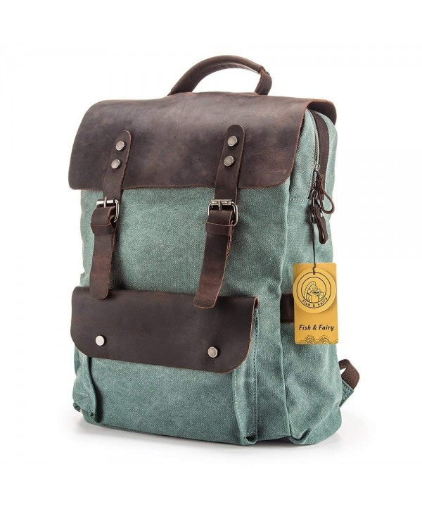 Fish Fairy Vintage Daypack Backpacks