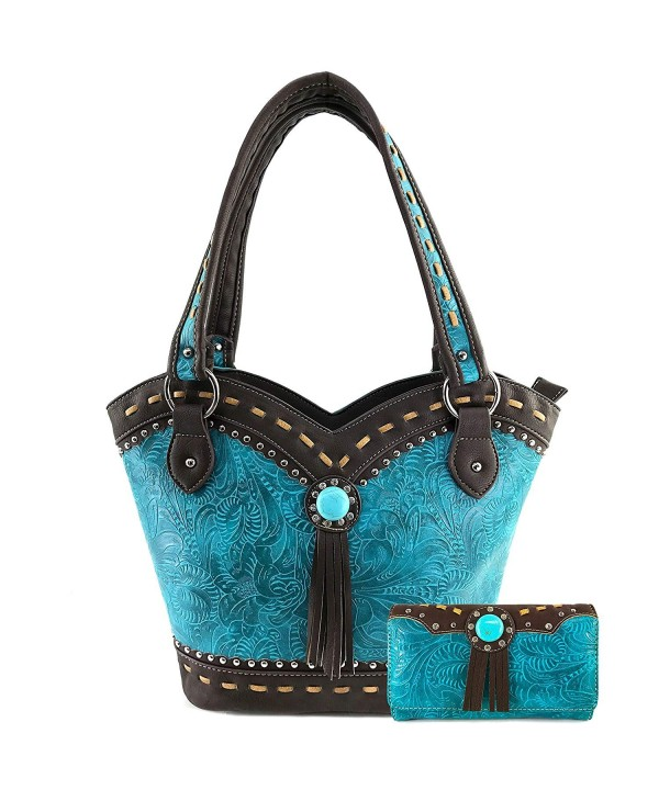 Justin West Turquoise Shoulder Concealed