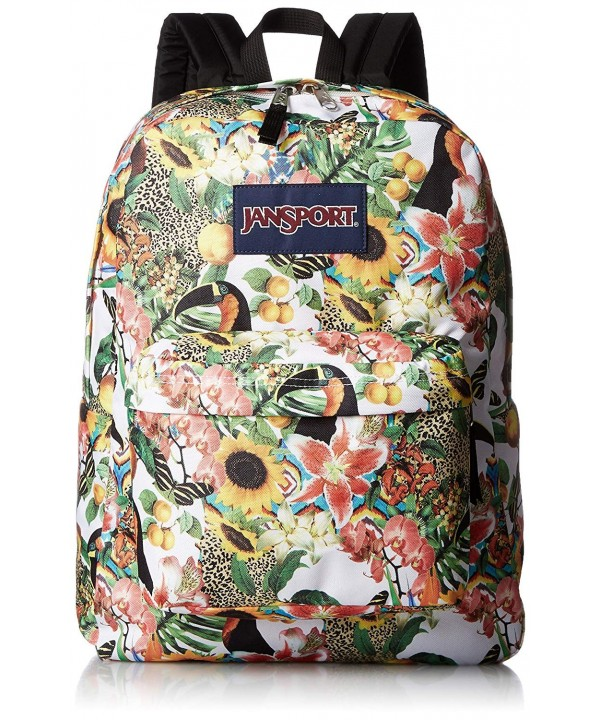 JanSport Unisex SuperBreak Jungle Backpack