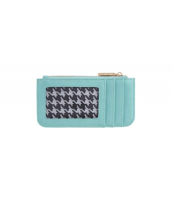 Shiraleah Olivia Card Case Aqua