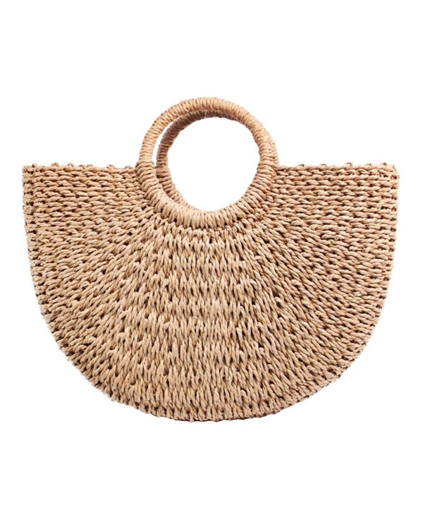 Straw Hand woven Handle Summer bag