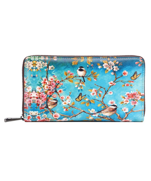 APHISON Holder Zipper Painting Wristlet