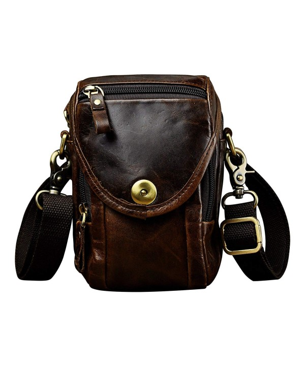 Leaokuu Vintage Messenger Shoulder Satchel