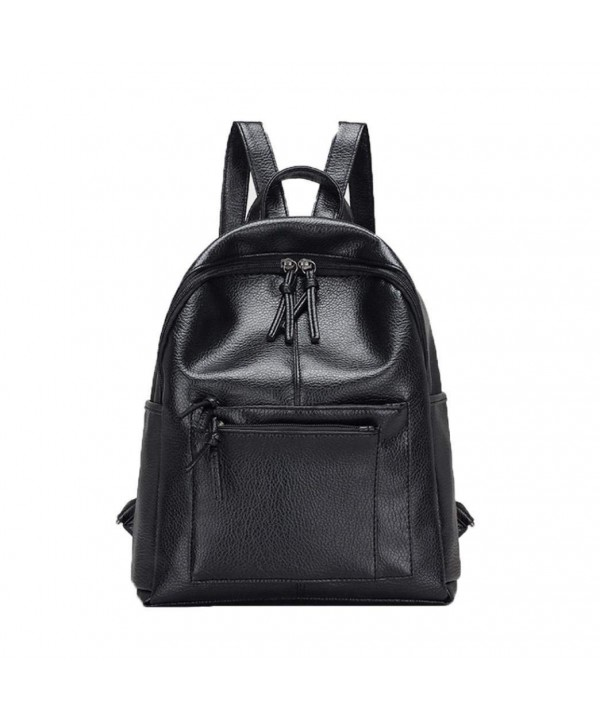 Lanhui_Exquisite Backpack Vintage Shoulder Schoolbag