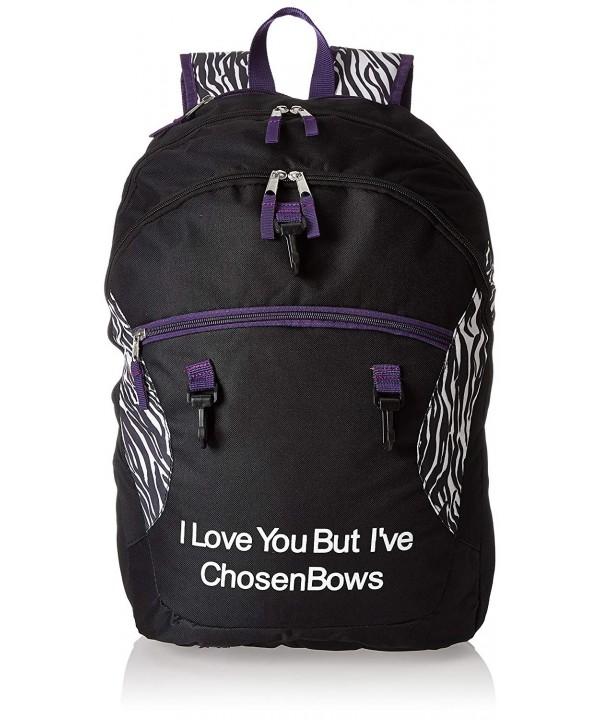 Chosen Bows Bow Bag Purple
