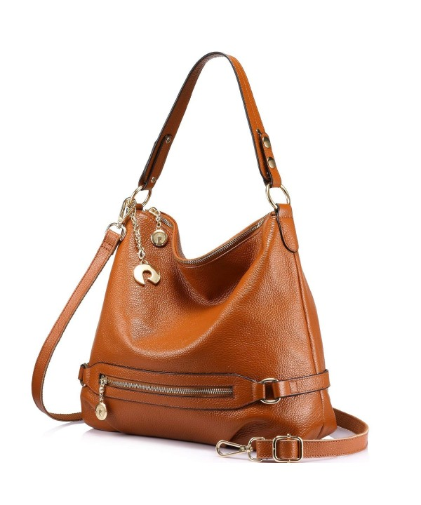 Genuine Leather Handbags Designer Shoulder