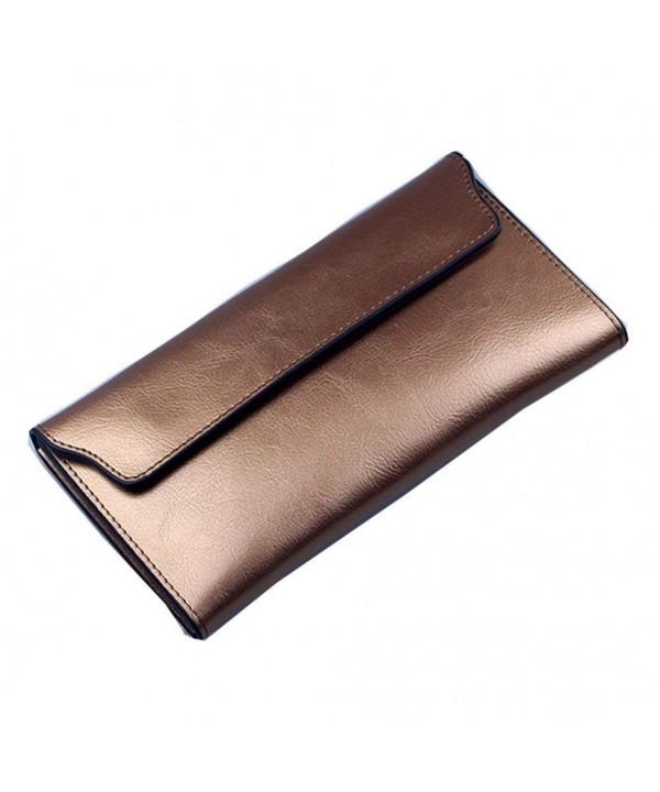 NIGEDU Wallet Genuine Cowhide Leather