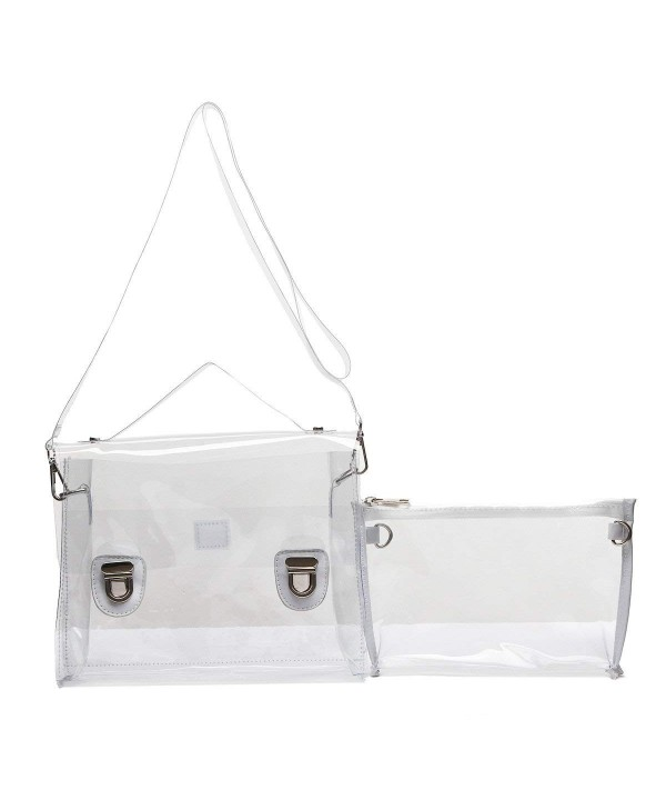 Transparent Piece Shoulder Bag Clutch