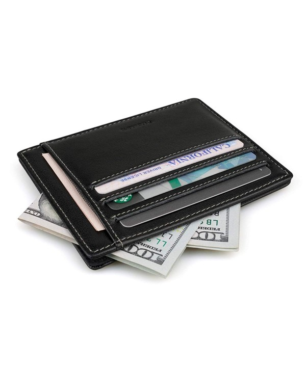 INJOYLIFE Leather Minimalist Multi card Wallets